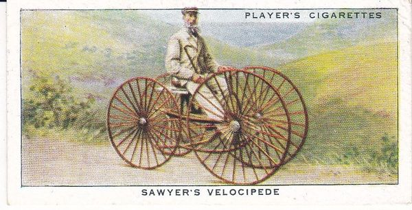 No. 04 Sawyer's Velocipede