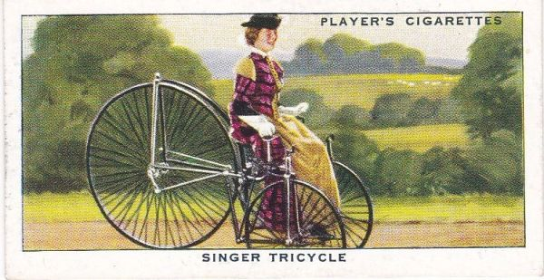 No. 07 Singer Tricycle