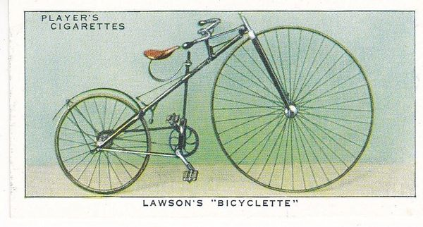 "No. 09 Lawson's ""Bicyclette"""