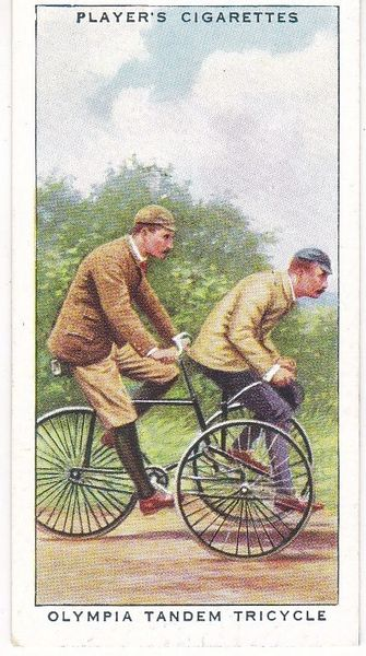 No. 16 Olympia Tandem Tricycle