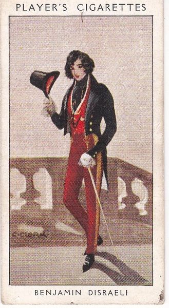 No. 43 Benjamin Disraeli : Dizzy