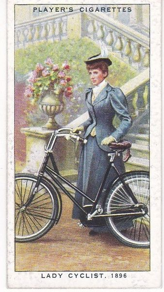 No. 25 Lady Cyclist, 1896