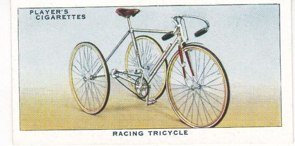 No. 33 Racing Tricycle