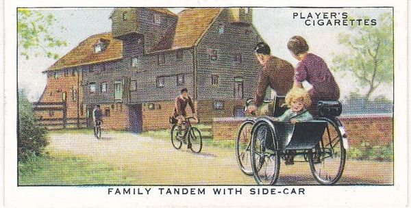 No. 40 Family Tandem with Side-Car