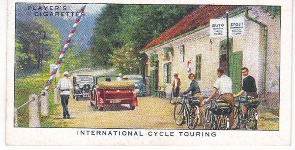 No. 42 International Cycle Touring