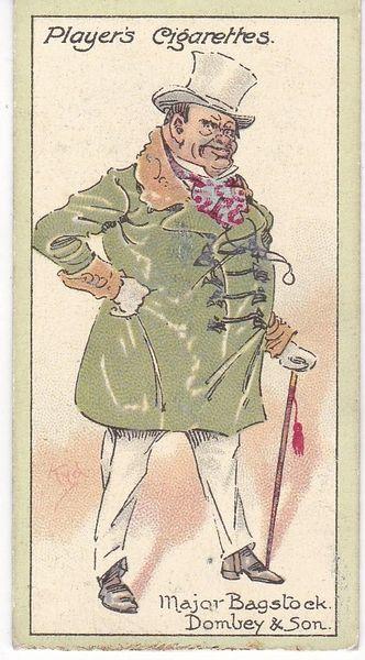 No. 07 Major Bagstock – Dombey and Son