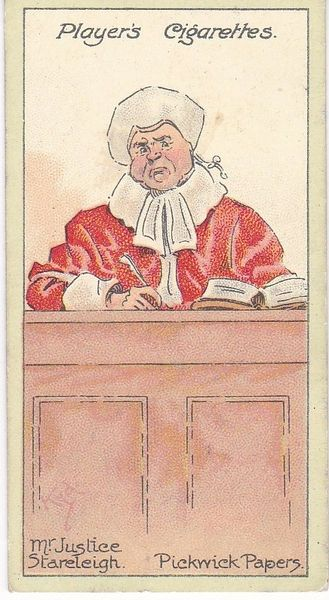 No. 14 Mr. Justice Stareleigh – The Pickwick Papers
