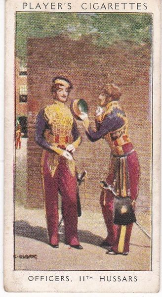 No. 46 Officers 11th Hussars : The Golden Age of Whiskers