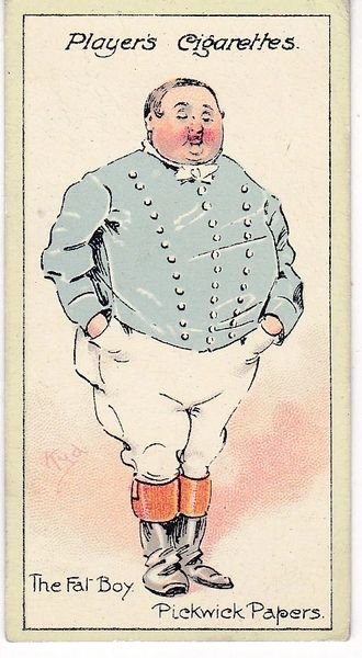 No. 21 The Fat Boy – The Pickwick Papers