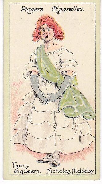 No. 45 Fanny Squeers – Nicholas Nickleby