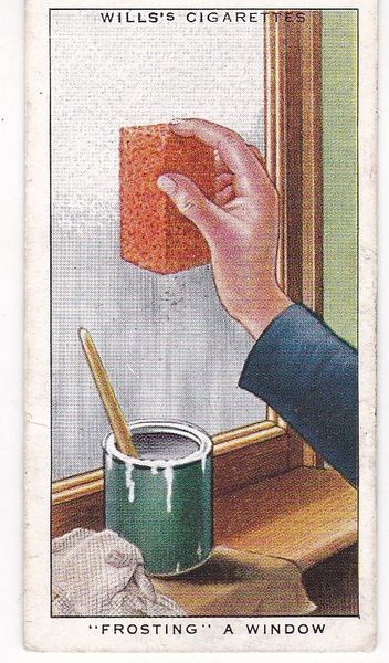 Household Hints (1936) No. 14 Frosting a Window