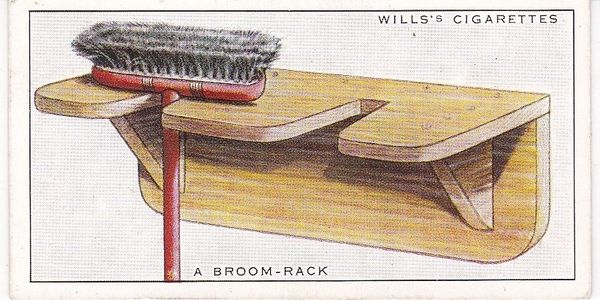 Household Hints (1936) No. 03 A Broom Rack