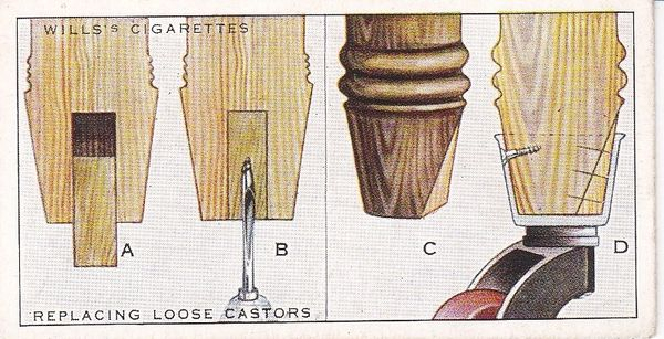 Household Hints (1936) No. 05 Replacing Loose Castors