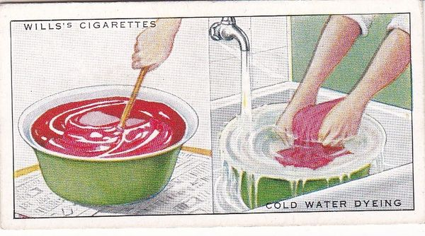 Household Hints (1936) No. 11 Cold Water Dyeing