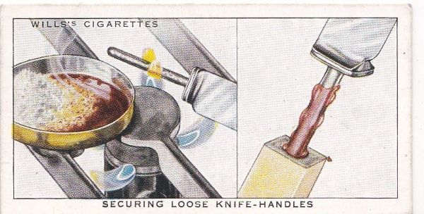 Household Hints (1936) No. 21 Securing Loose Knife-Handles