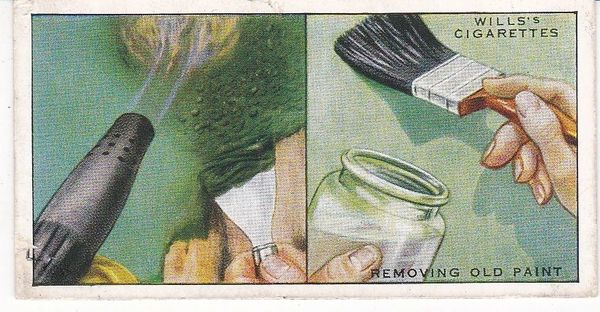 Household Hints (1936) No. 27 Removing Old Paint