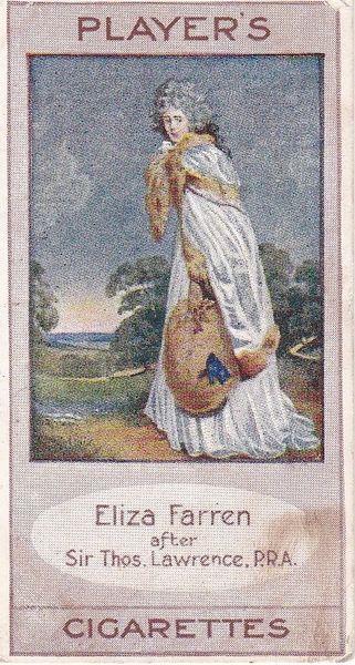 No. 22 ELIZA FARREN Countess of Derby