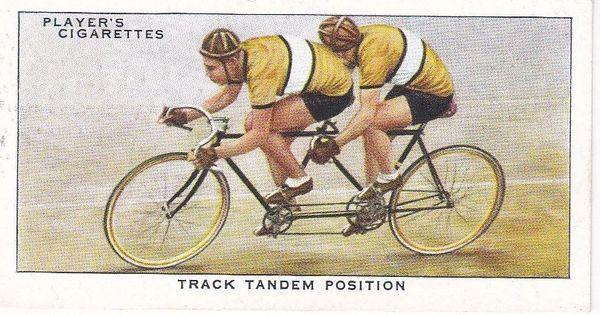 No. 45 Track Tandem Position