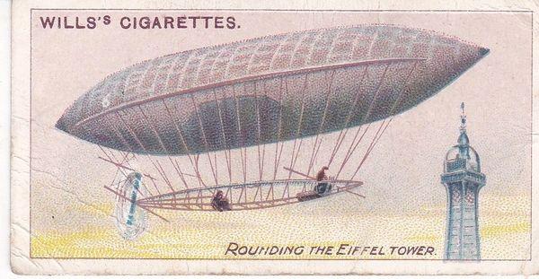 No. 08 Rounding the Eiffel Tower, Santos Dumont