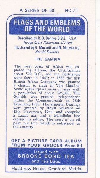 No. 21 The Gambia