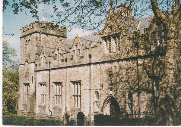 Post Card Lancashire LANCASTER Royal Grammar School