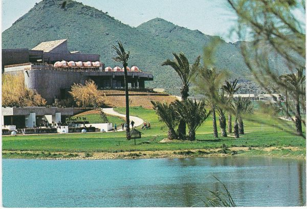 Post Card Spain Costa Blanca La Manga Campo de Golf