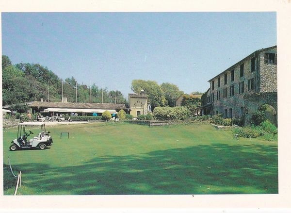Postcard France Valbonne GOLF OPIO VALBONNE