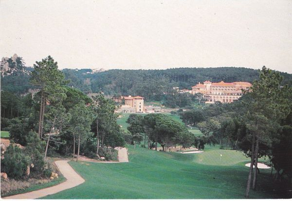 Post Card Portugal Sintra Linho CÆSAR PARK Penha Longa Hotel and Golf Club seen from Hole 17