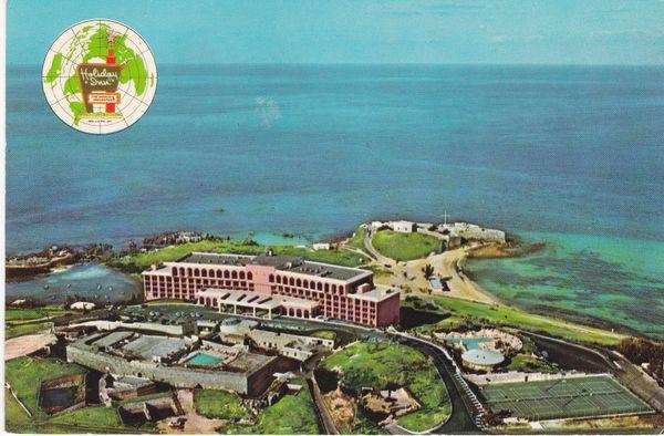Post Card BERMUDA St. George's HOLIDAY INN