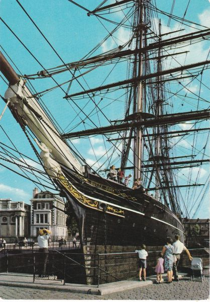 Post Card LONDON GREENWICH THE CUTTY SARK Pitkin Pictorial Postcards Lo3/65/R1/10