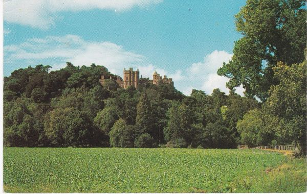 Postcard Somerset DUNSTER CASTLE Photochrome WHS 855