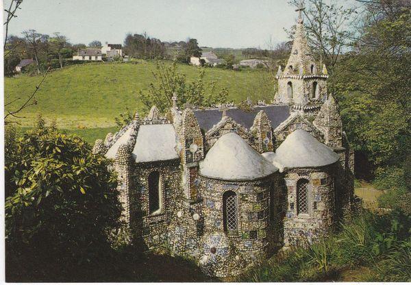 Post Card Channel Islands GUERNSEY Les Vauxbelets The Little Chapel Jarrold Cotman-Color G 92