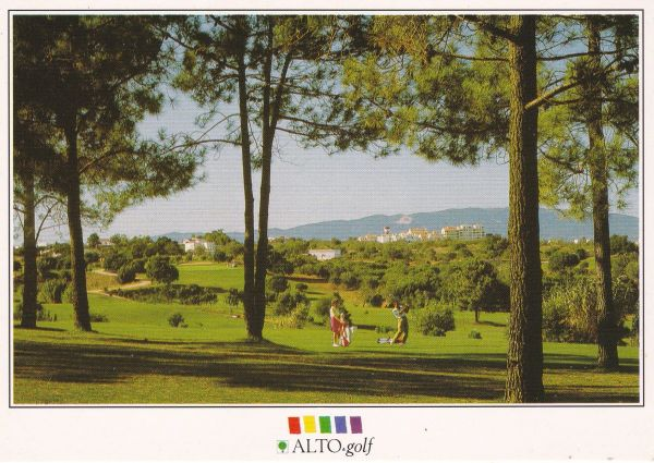 Post Card Portugal Algarve ALTO Golf