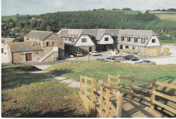 Post Card Cornwall LOWER POLSCOE Lostwithiel Golf & Country Club The Clubhouse and Hotel