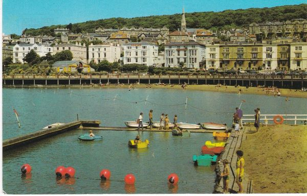 Postcard Somerset WESTON-SUPER-MARE Madeira Cove PT6231