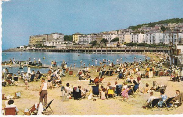 Postcard Somerset WESTON-SUPER-MARE Madeira Cove Marine Lake PT6101