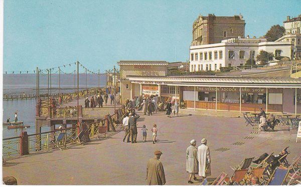 Postcard Somerset WESTON-SUPER-MARE Rozel Promenade Photochrome