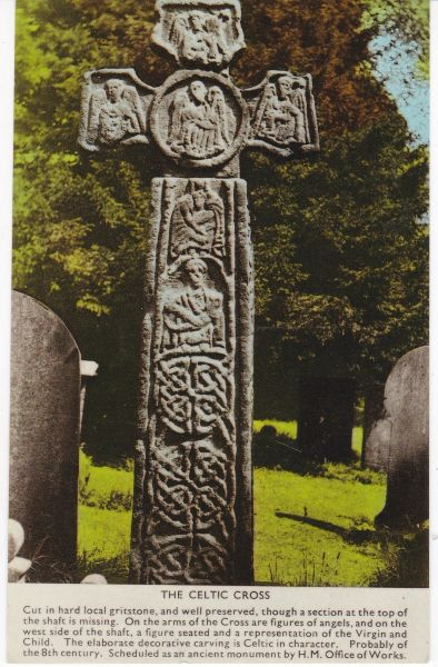 Post Card THE CELTIC CROSS A. W. Bourne