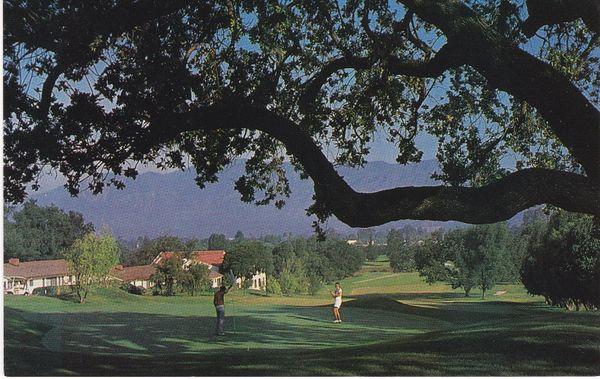 Post Card United States California Golf OJAI VALLEY INN & COUNTRY CLUB