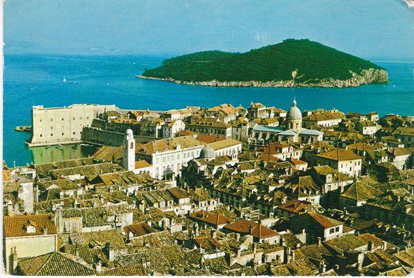 Post Card Croatia DUBROVNIK