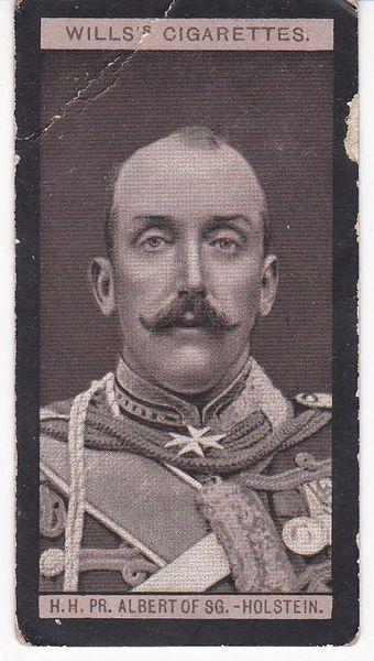 No. 27 H.H. Prince Albert of Schleswig Holstein