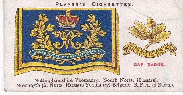 No. 35 - Nottinghamshire Yeomanry