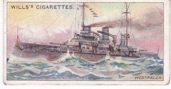 No. 13 German Battleship WESTFALEN