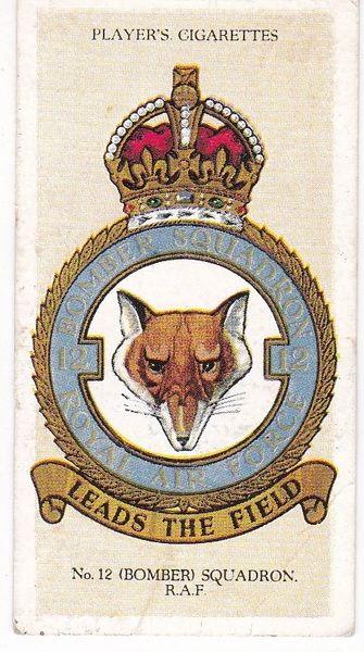 No. 06 – No. 12 (Bomber) Squadron