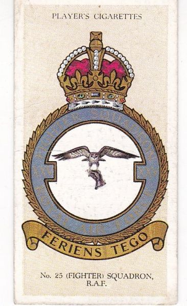 No. 18 – No. 25 (Fighter) Squadron