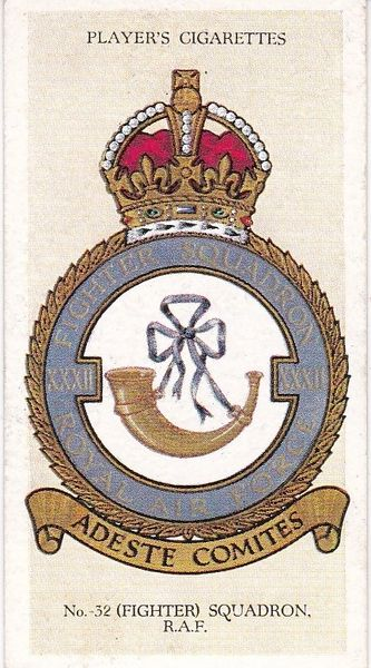 No. 23 - No. 32 (Fighter) Squadron