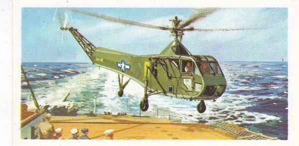 Black back reprint No 27 Sikorsky R-4 Helicopter