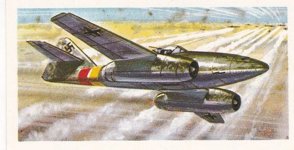 Black back reprint No 29 Messerschmitt 262
