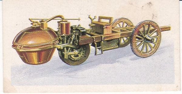 No. 01 - 1770 Cugnot's 3-Wheel Steam Tractor (France)