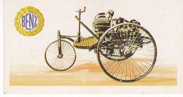 No. 02 - 1885 Benz 3-Wheeler 1.7 Litre (Germany)